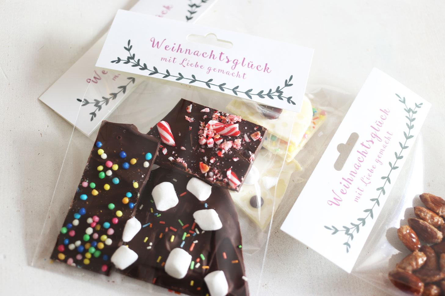 Weihnachtsleckereien Verpackung
