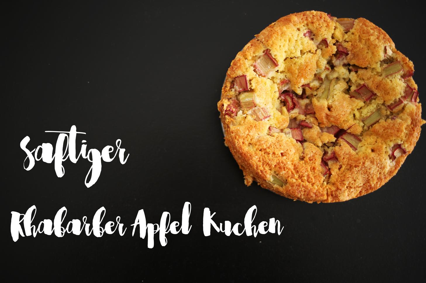 Rhabarber Apfel Kuchen