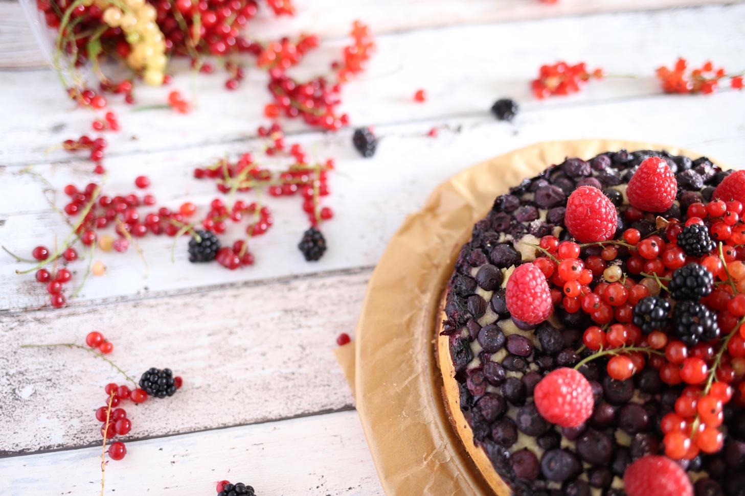 Heidelbeer-Buttermilch-Kuchen