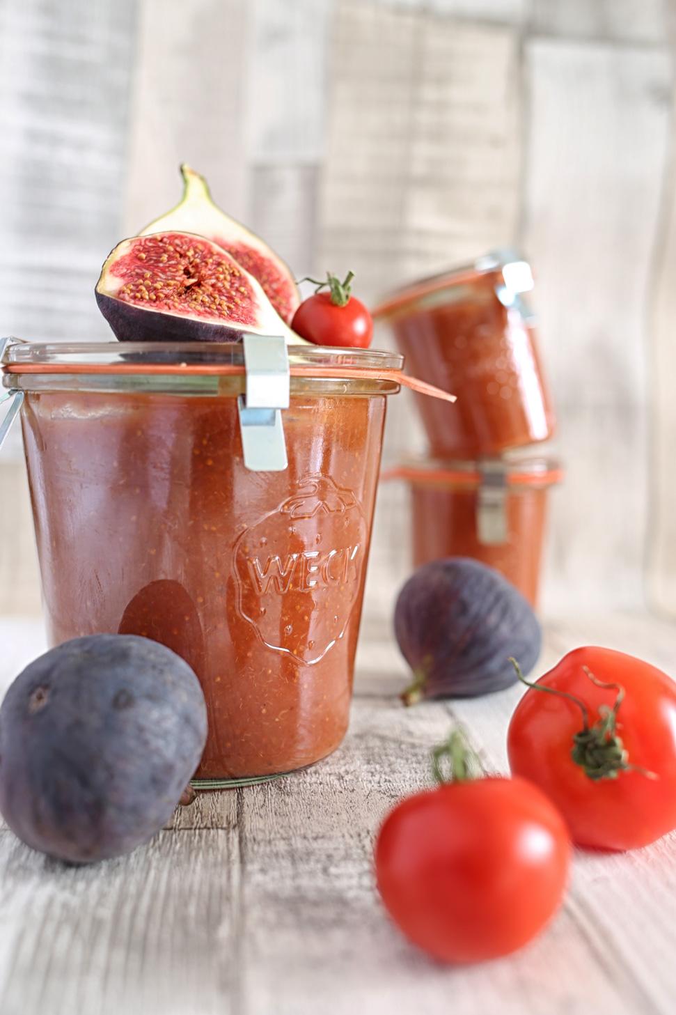 Tomaten Feigen Ketchup