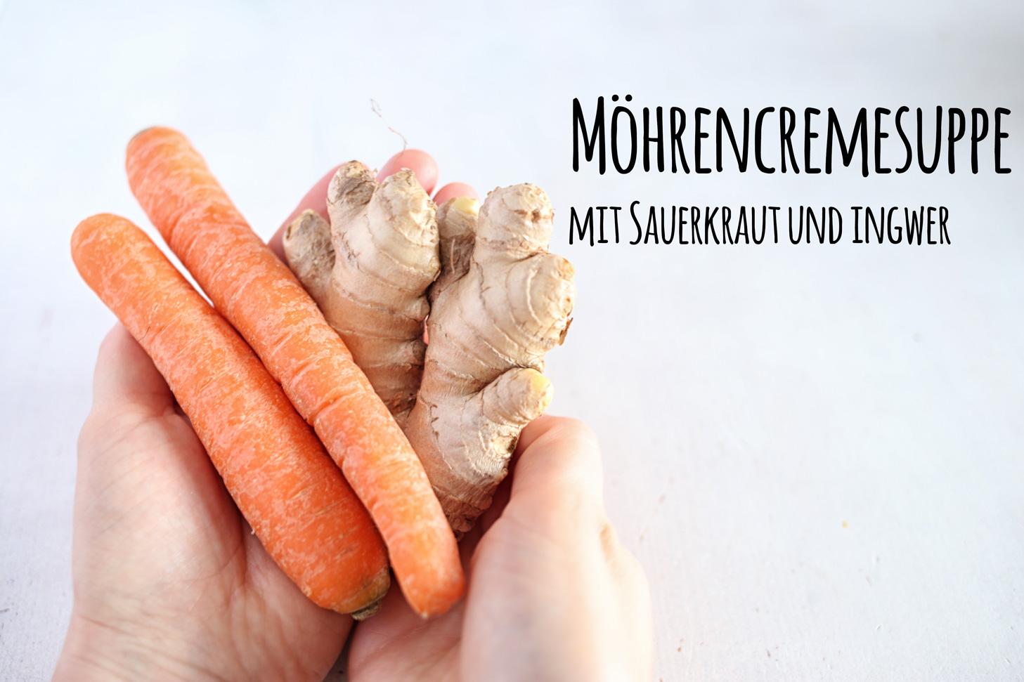 Moehrencremesuppe