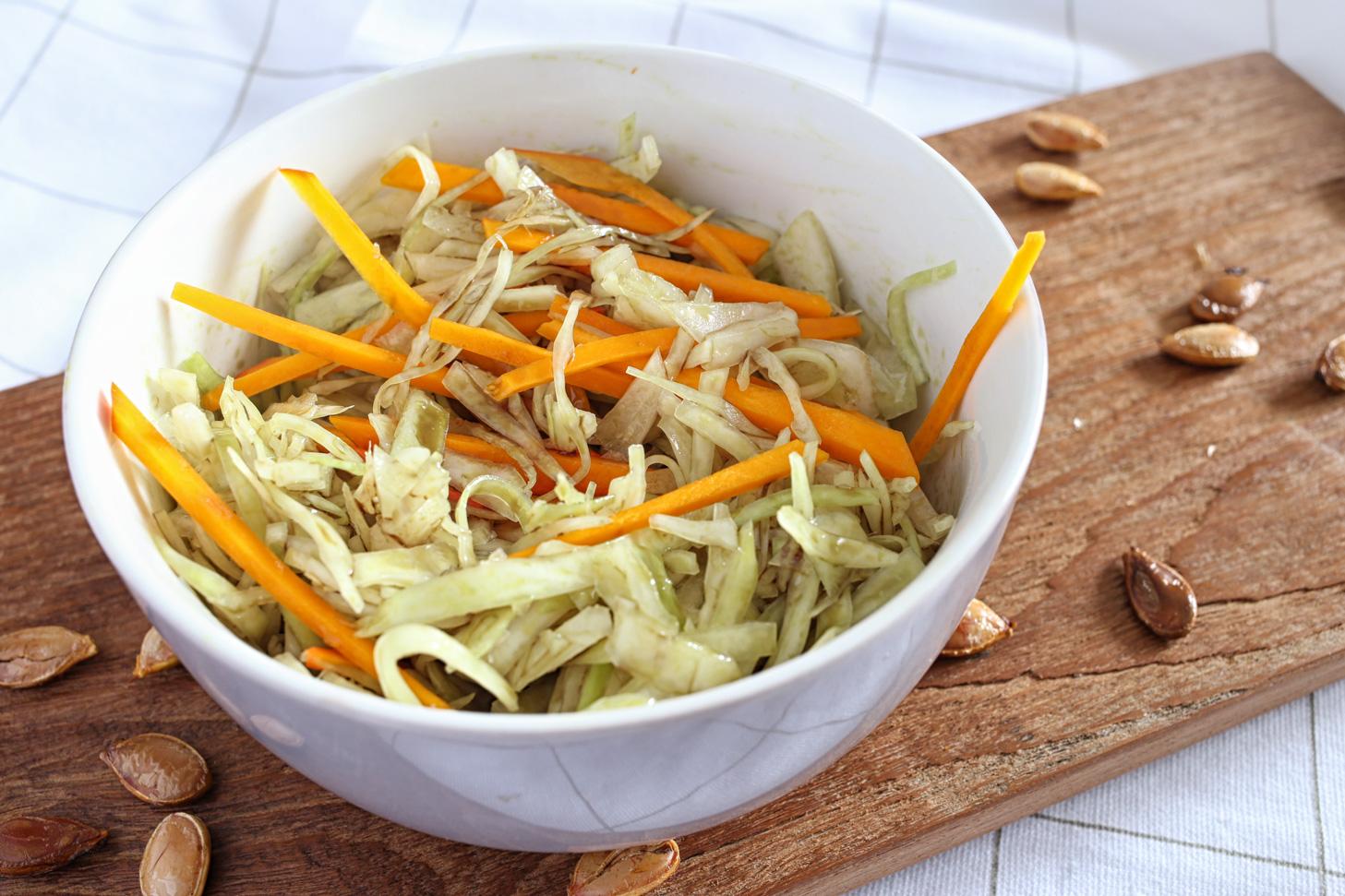 kuerbis-coleslaw