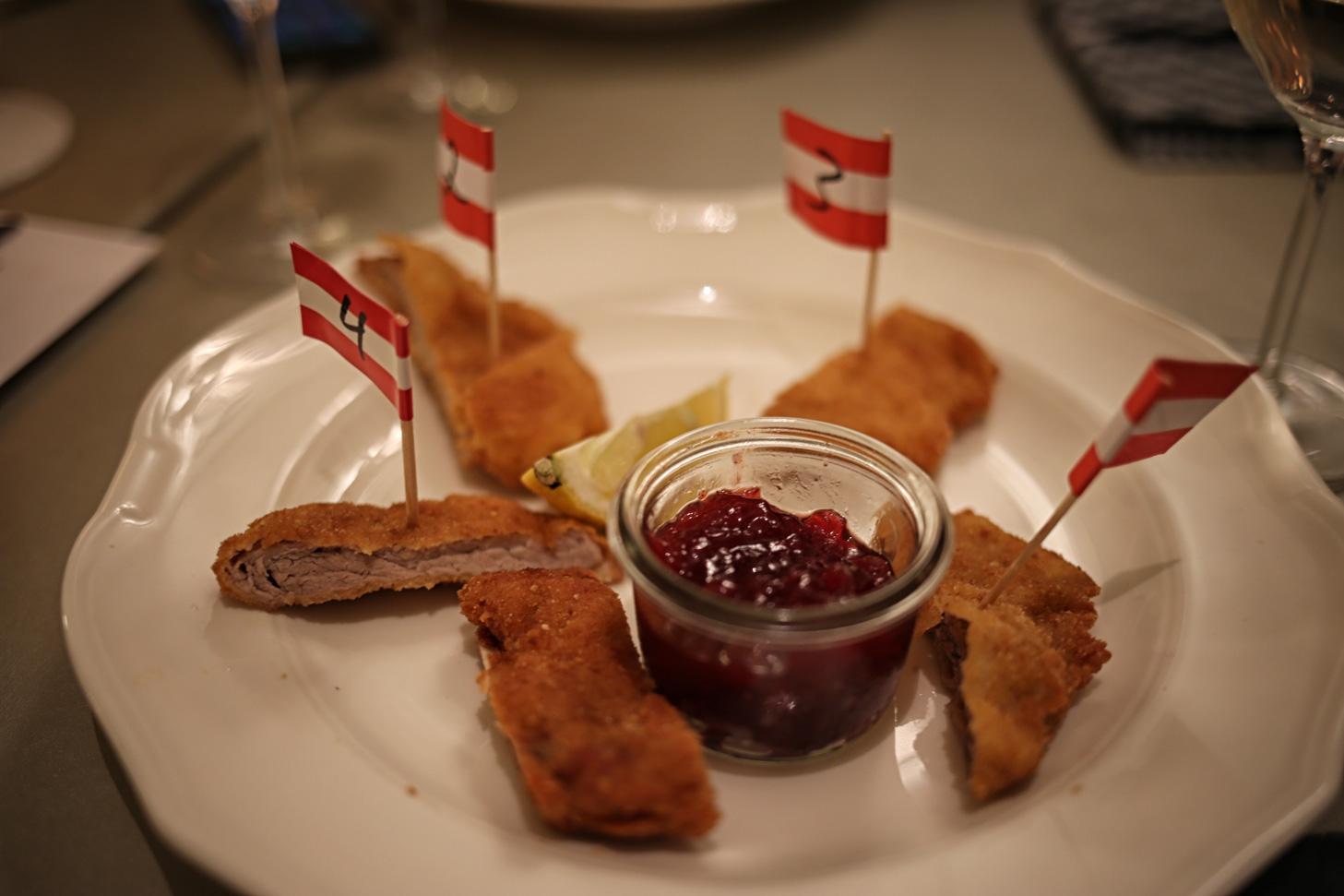 schnitzel-tasting