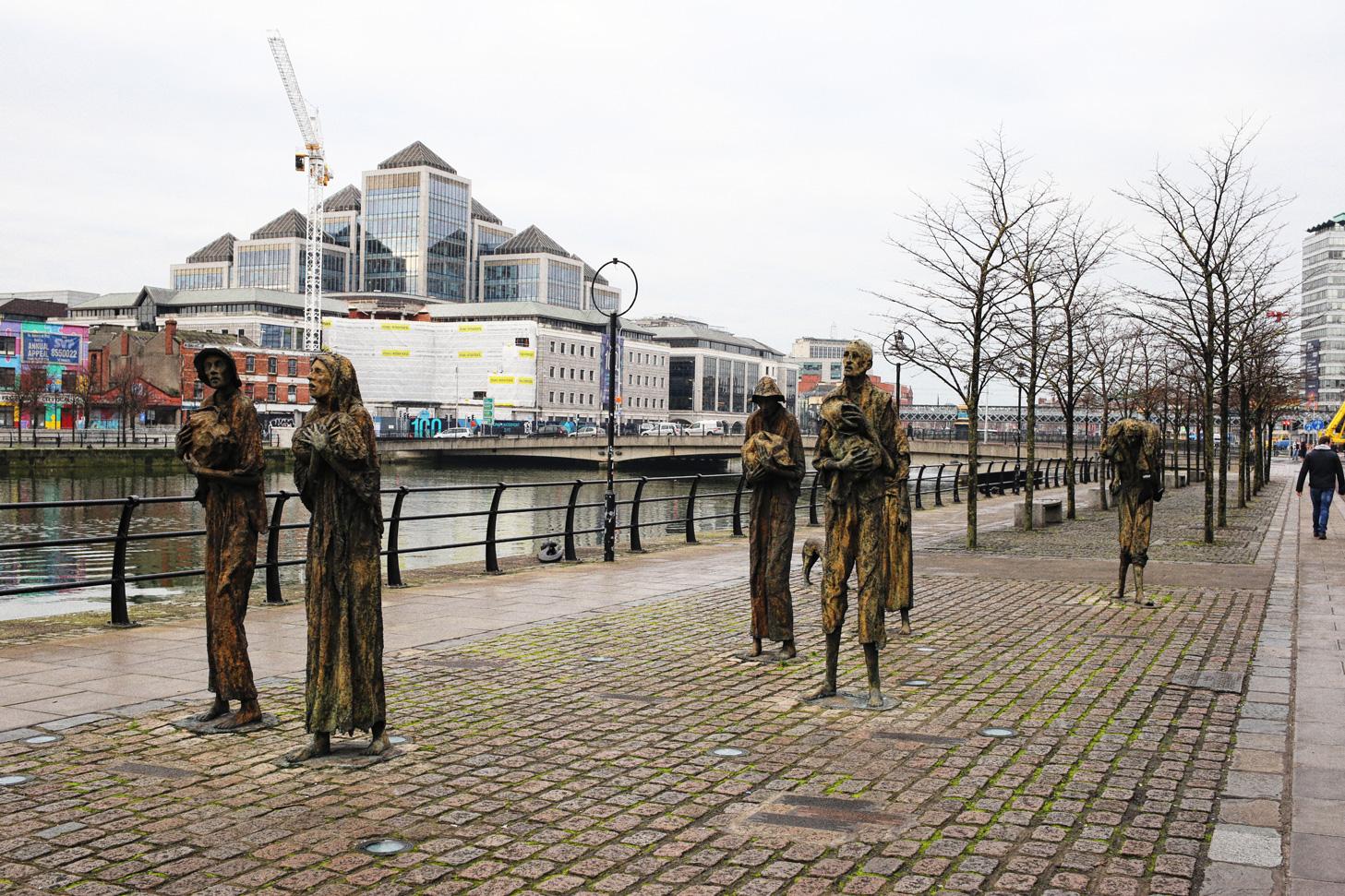 Statuen-Dublin