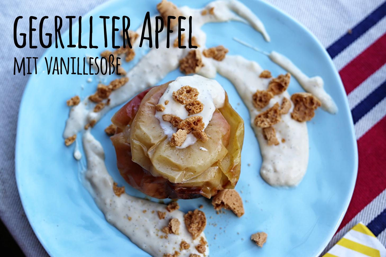 Gegrillter-Apfel