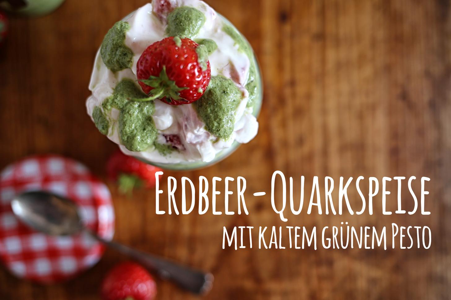 Erdbeer-Quarkspeise