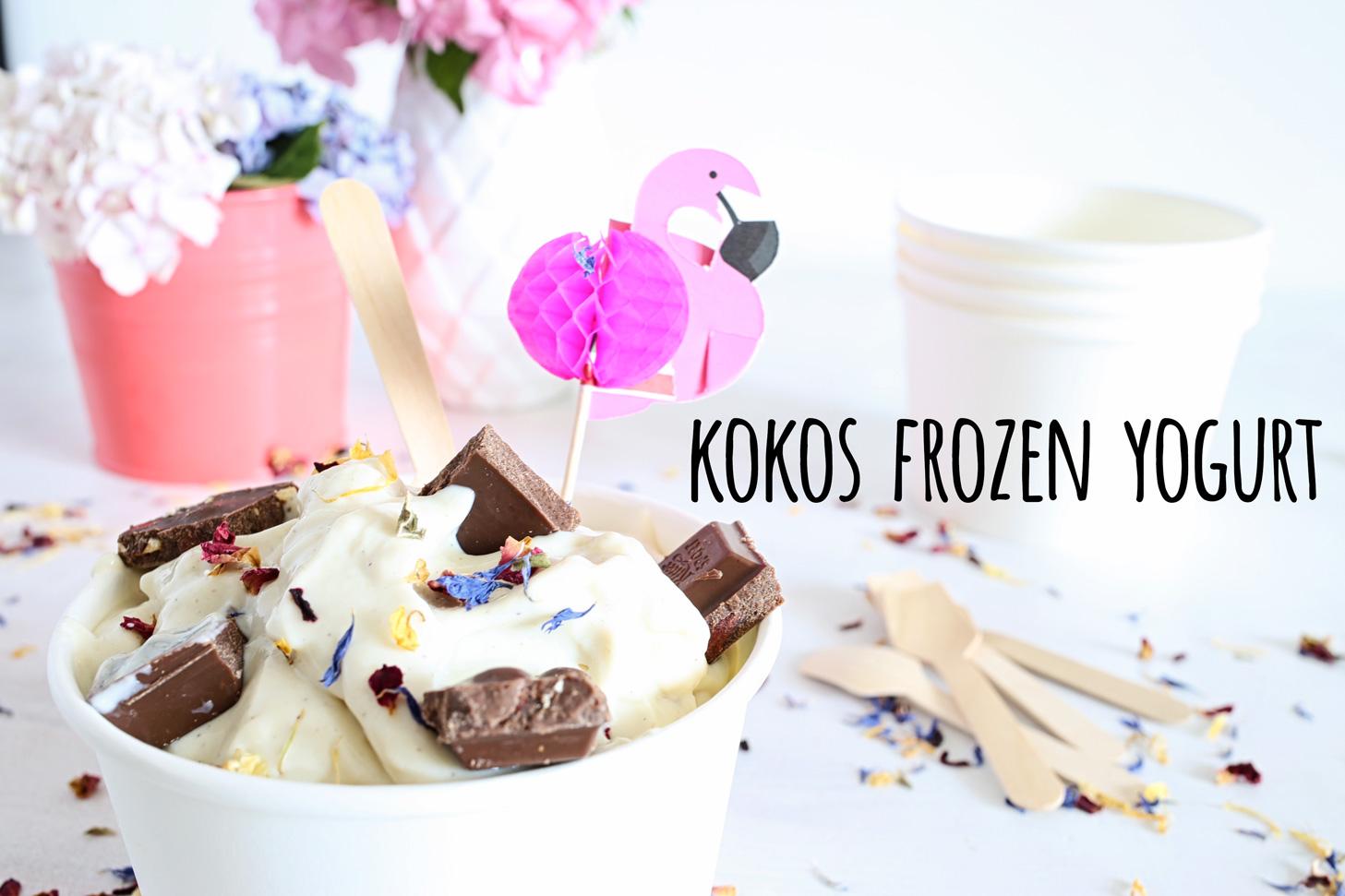 Kokos Frozen Yogurt