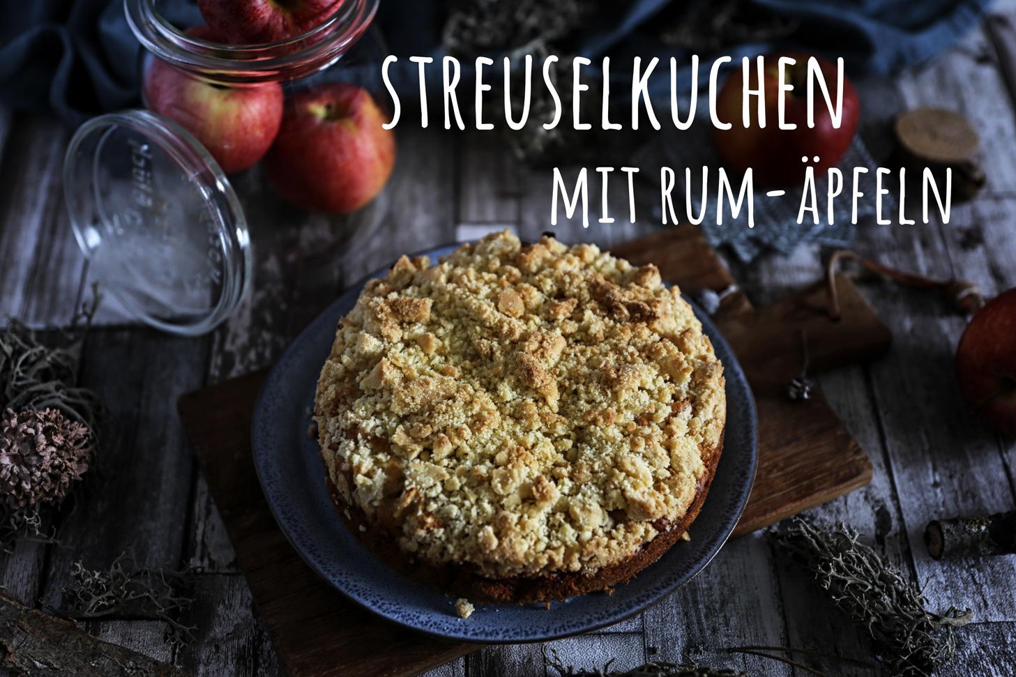 Streuselkuchen-Rum-Äpfel