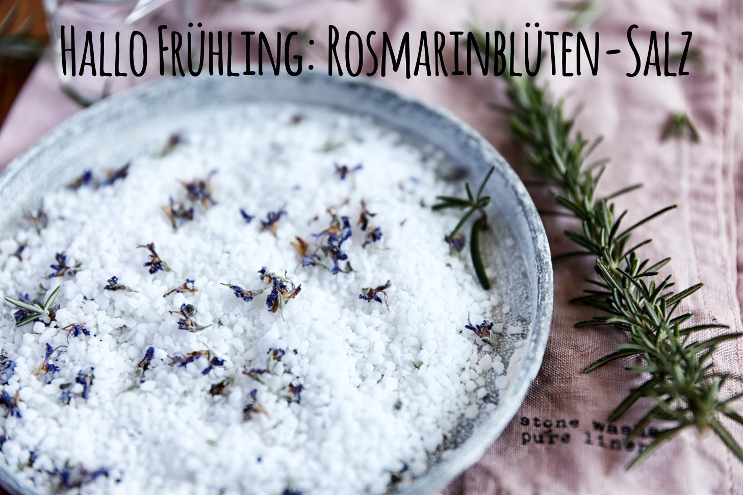 Rosmarinblüten-Salz