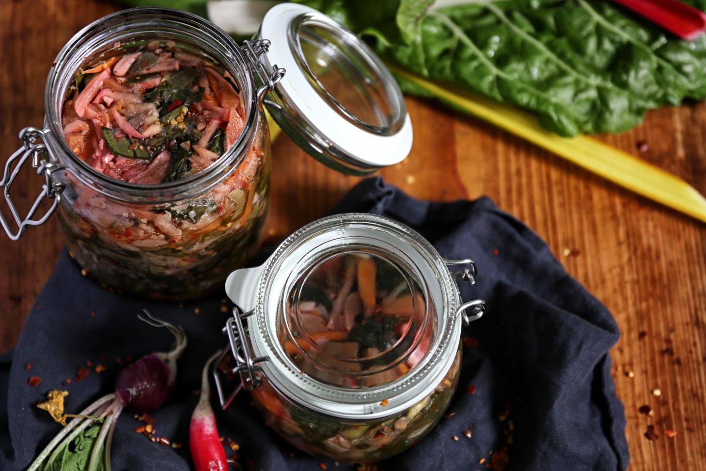 Mangold-Kimchi