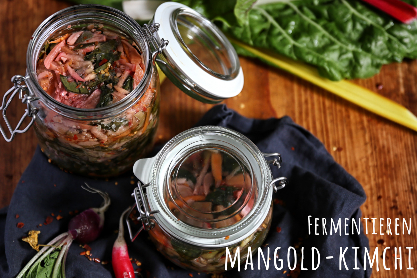 Fermentieren: Mangold-Kimchi - Pottgewächs